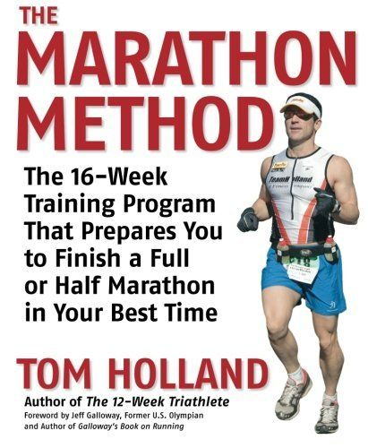 The Marathon Method: The 16-Week Training Program that Prepares You to Finish a Full or Half Marathon in Your Best Time, http://www.amazon.com/dp/1592332595/ref=cm_sw_r_pi_awdl_Rn7Qsb15F0W2V