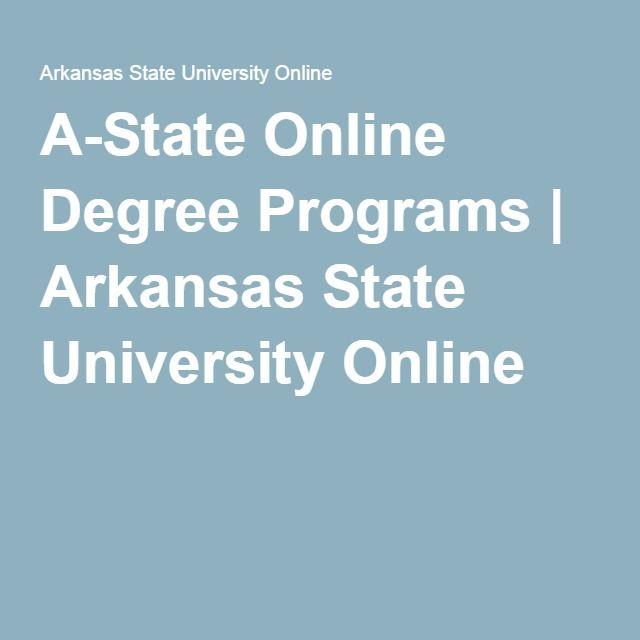 A-State Online Degree Programs   Arkansas State University Online ...