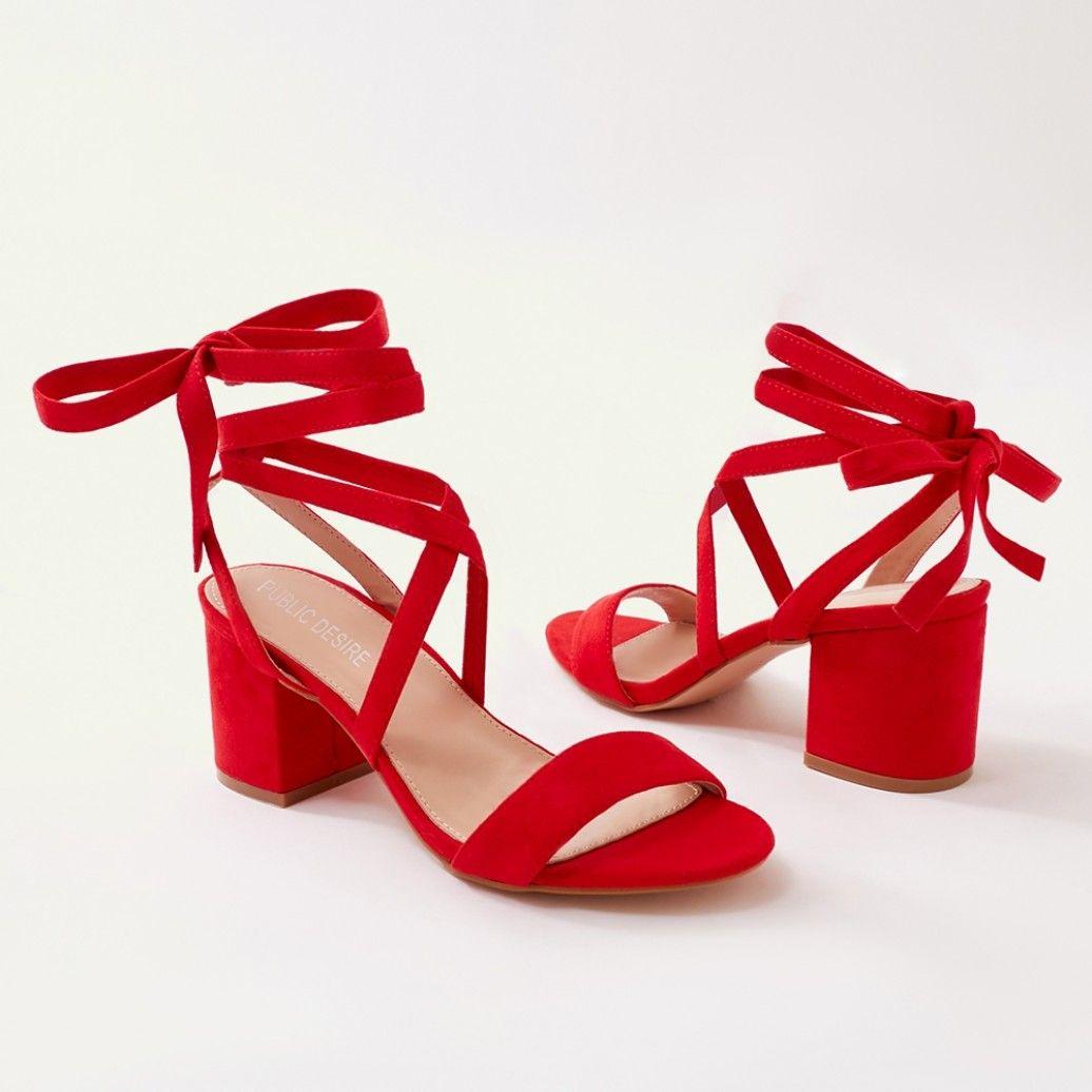 Short Red Heels