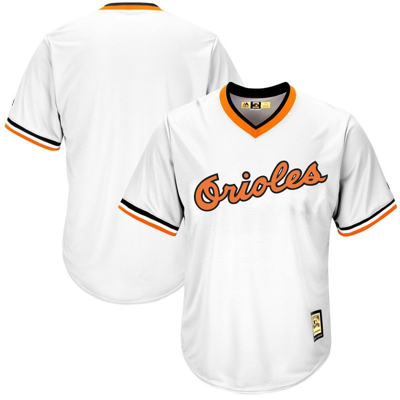 12795a51e86 Baltimore Orioles Majestic Home Cooperstown Cool Base Replica Team Jersey -  White