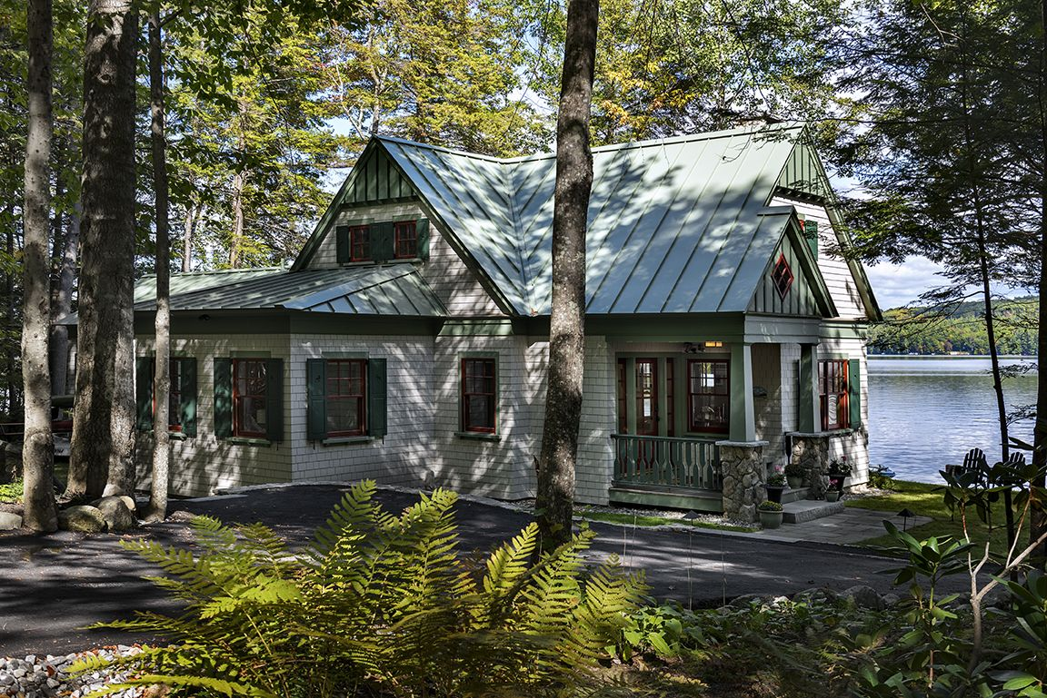 2016 excellence in architectural design honorable mention for Maine cottage house plans