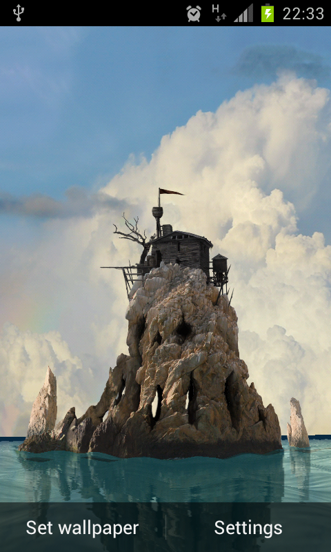 Skull Island 3D v1.3.0 Android Live Wallpaper apk Download