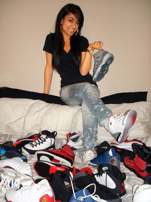 Girls with Swag and Jordan's | Girls With Swag And Jordans Tumblr -  kootation.com · Nike Shoes ...