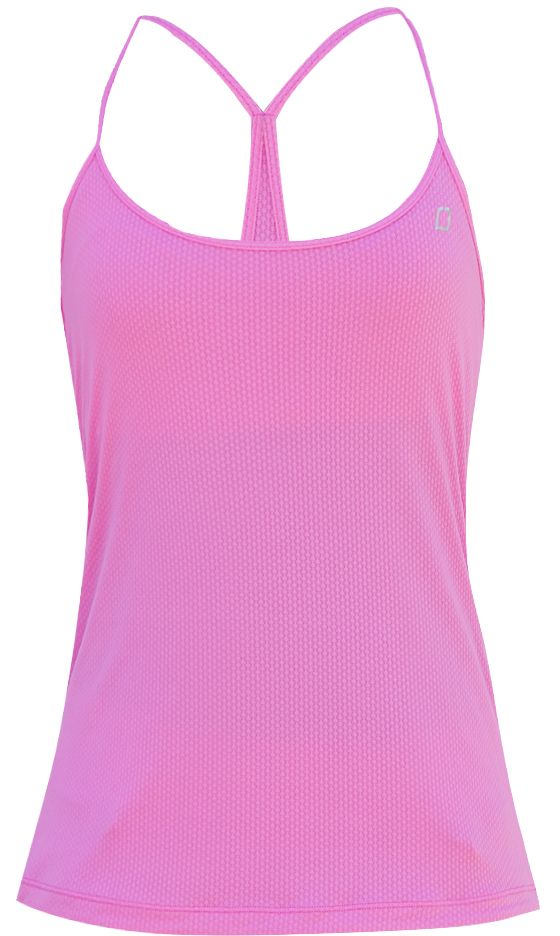 Lorna Jane Lucille Mesh Tank (Hyper Pink) $59.99 - available at Lorna Jane, Macquarie Centre