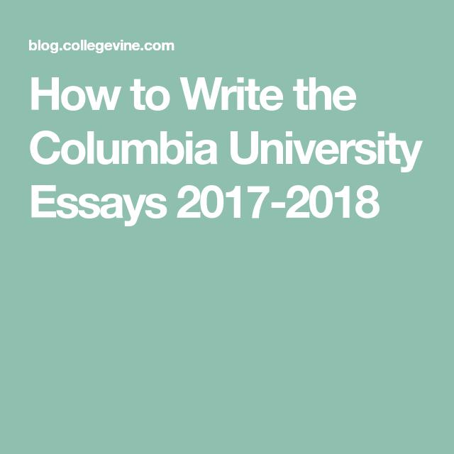 Uchicago essay supplement