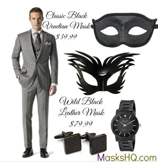Masquerade Ball Outfit Ideas for Men