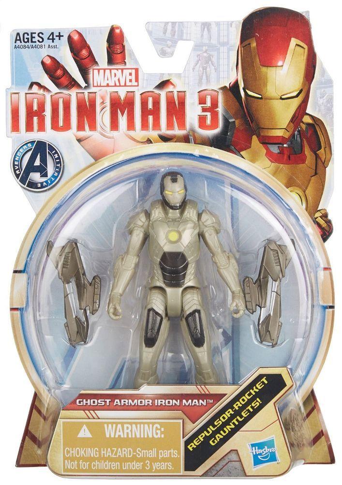 *NEW* Iron Man 3 Action Figure: Ghost Armor Iron Man Figure  - Rare