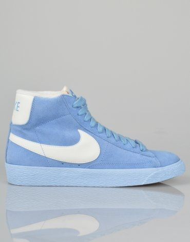 buy online 64c88 2ed1d ... coupon code for nike blazer hi vintage suede trainers light blue love  48f1c aa936