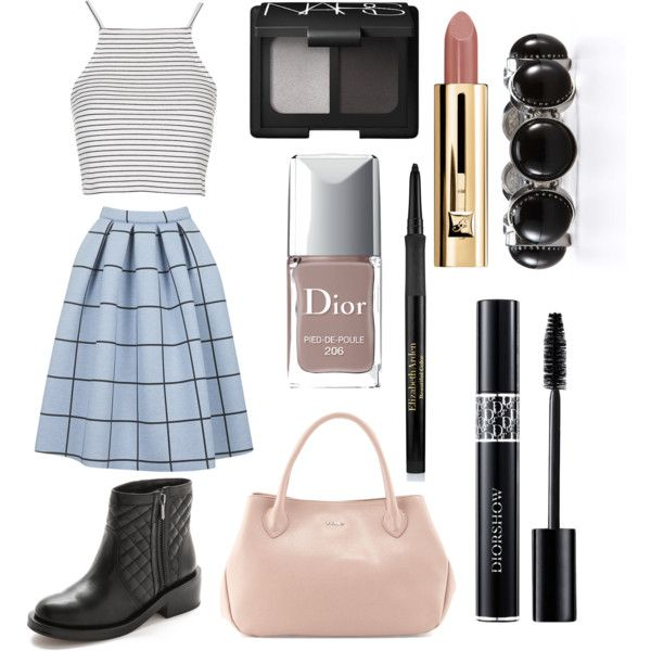 11 by amflegert on Polyvore featuring polyvore fashion style Topshop Sam Edelman Furla Ann Taylor NARS Cosmetics Christian Dior Elizabeth Arden