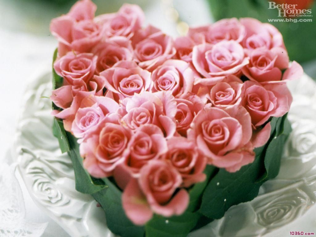 heart shaped bouquet roses flower out of sweeheart roses ...