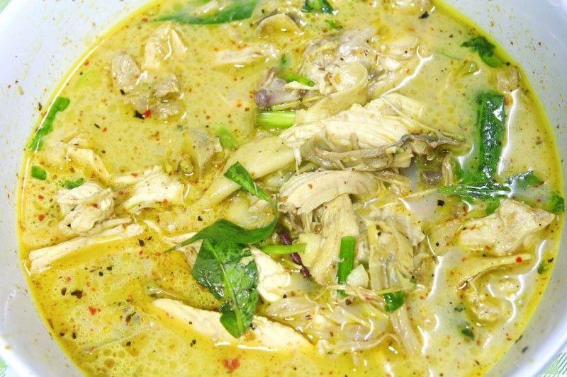 thai grøn karry opskrift