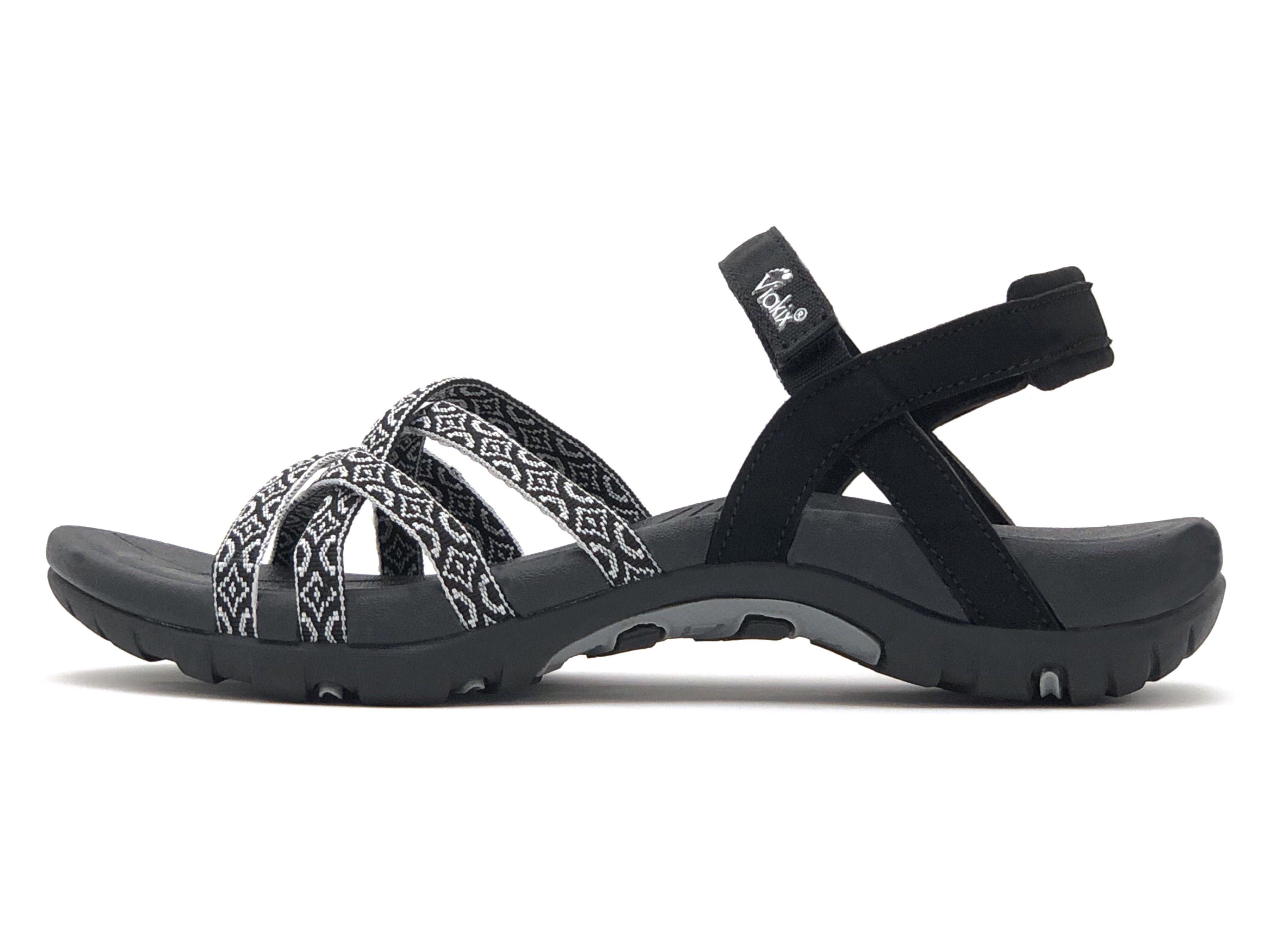 Comfortable Walking Sandals Athletic Outdoor Sandals By Viakix Reebok Shoes Women Best Walking Sandals Comfortable Walking Sandals