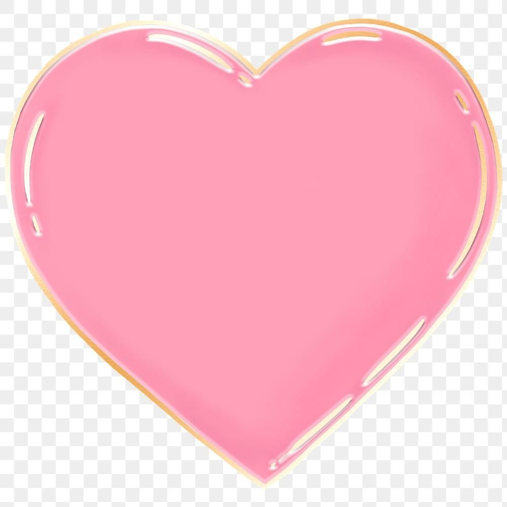 Pink Heart Shape Design Element Free Image By Rawpixel Com Manotang Pink Heart Design Element Heart Shapes
