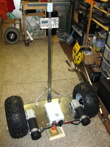 Project #012 - Home Built Segway | Поделки | Pinterest | Arduino