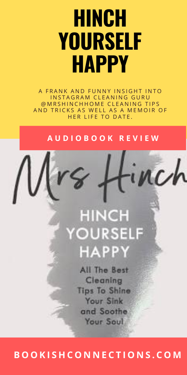 @mrshinchhome is the cleaning guru that is relatable, funny. In this frank and honest book, she shares her cleaning tips and how she came to become Mrs Hinch.  #HinchYourselfHappy #MrsHinch #LondonBookBlogger #UKBookBlogger