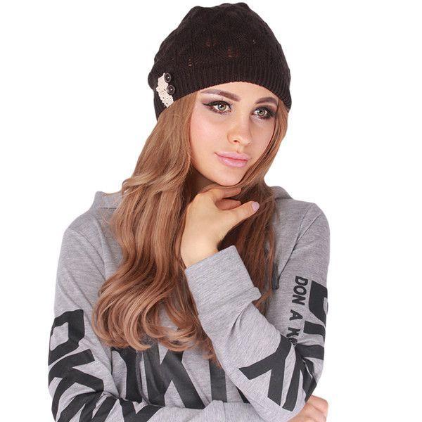 Women Knitting Hat Winter Hats for Women Genuine Hat Handmade ...
