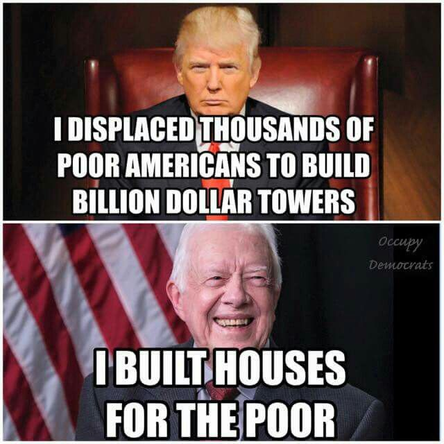 Image result for images of Trump vs Jimmy Carter