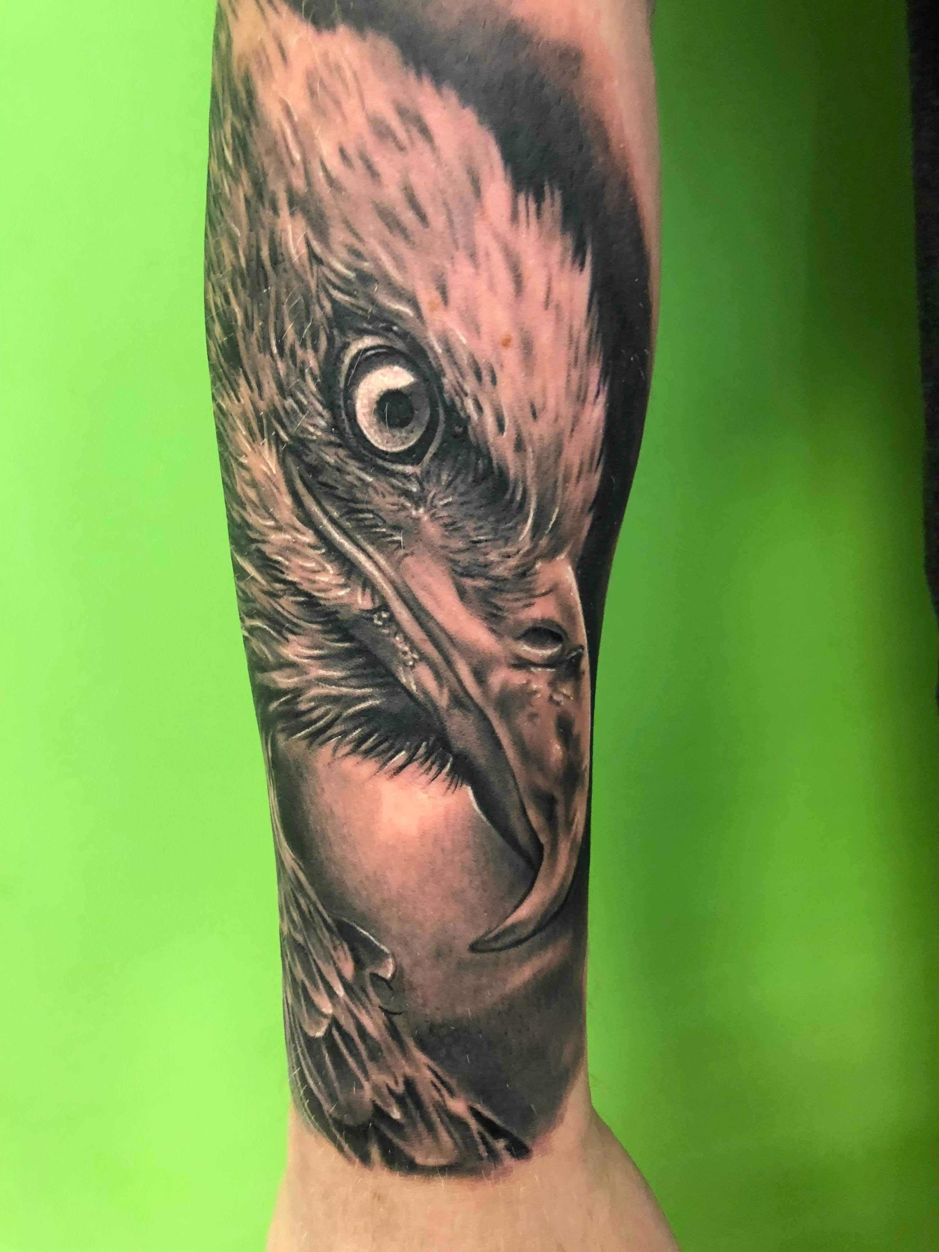 Tattoos Adler Motive