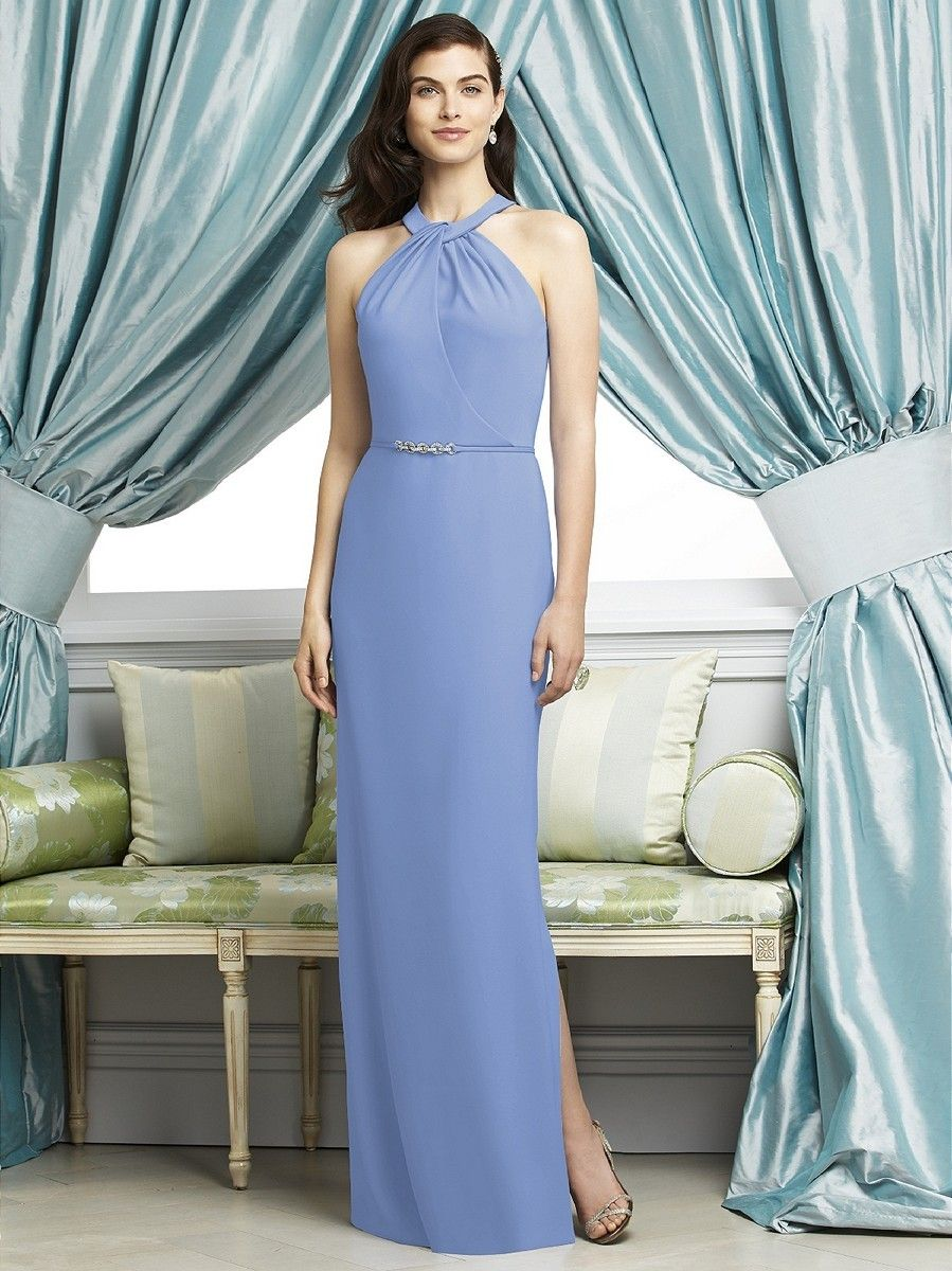 Dessy 2937 bridesmaid dress it is designed with a halter neckline dessy 2937 bridesmaid dress it is designed with a halter neckline that is draped for ombrellifo Gallery
