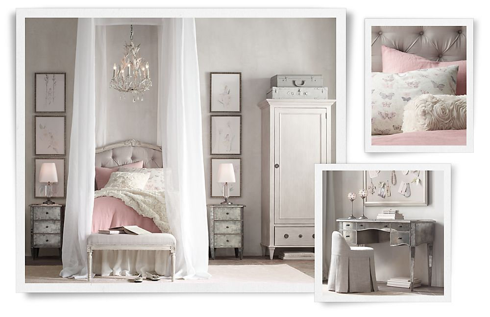 Rooms Restoration Hardware Baby Child Girl 39 S Room