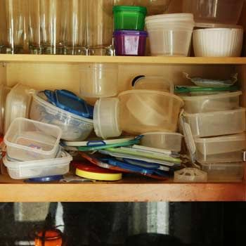 Organizing Plastic Food Storage Containers Storage containers