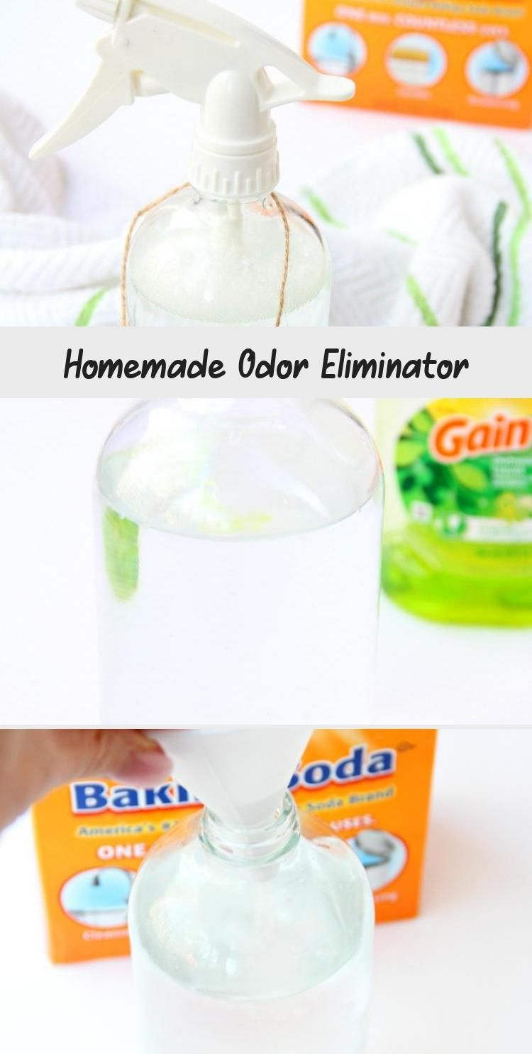 Homemade Odor Eliminator This Diy Odor Eliminator Is A Lifesaver Removes Urine Pet And Vomit Odors Fro Odor Homemade Cleaning Solutions How To Clean Carpet