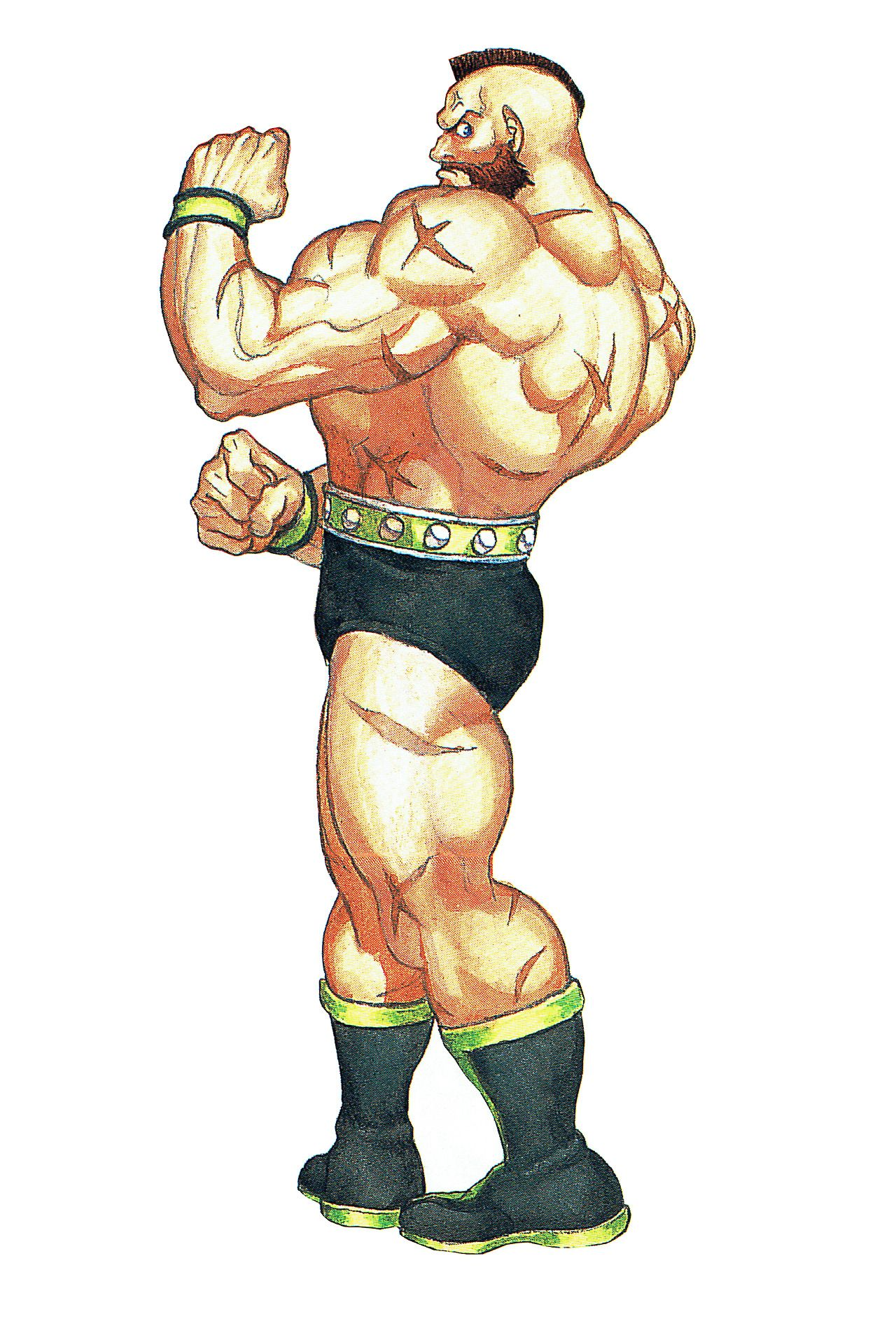 Zangief Artwork For Capcom Unity S Street Fighter Ii Special