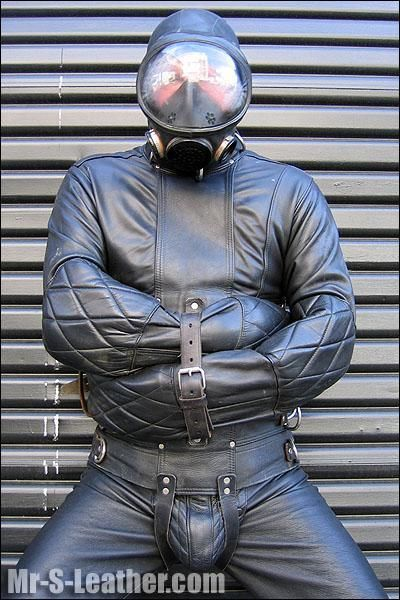 Deluxe Leather Straitjacket | Stuff to Buy | Pinterest ...