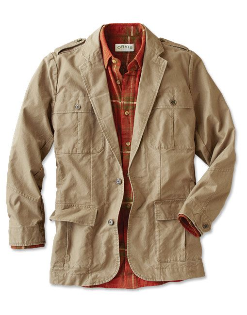 bd0d382d76155 Just found this Waxed Cotton Bush Jacket for Men - Waxed-Cotton Bush Jacket  -- Orvis on Orvis.com!