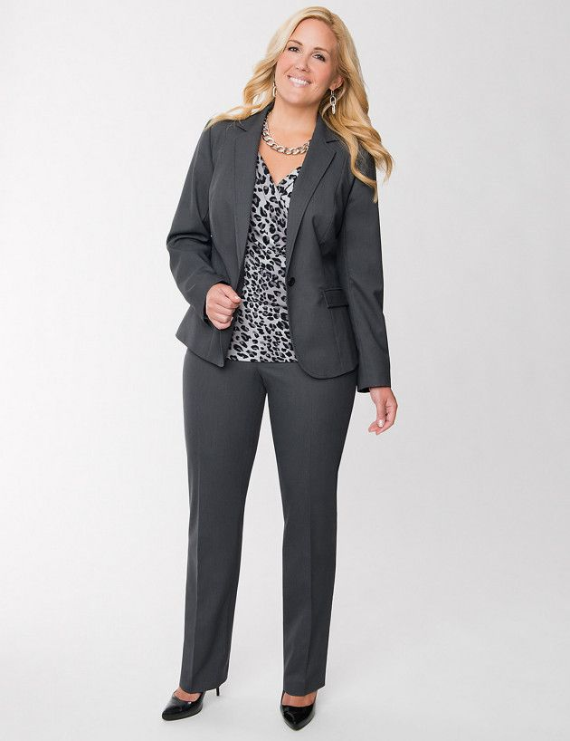 Plus Size Formal Business Attire for Women
