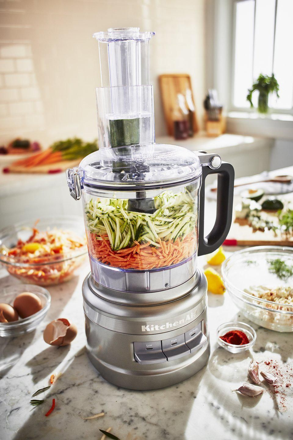 Kitchenaid 7 cup food processor silver other colors