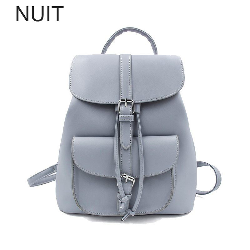 0ff7940d970c Women Backpack Drawstring Casual School Bag for Teenage Girls ...