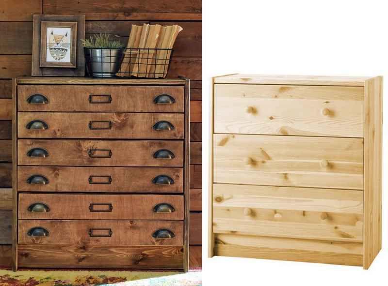 personnalisation de la commode rast de chez ikea dans un. Black Bedroom Furniture Sets. Home Design Ideas