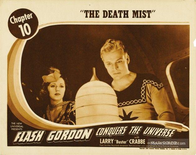Flash Gordon Conquers the Universe lobby card