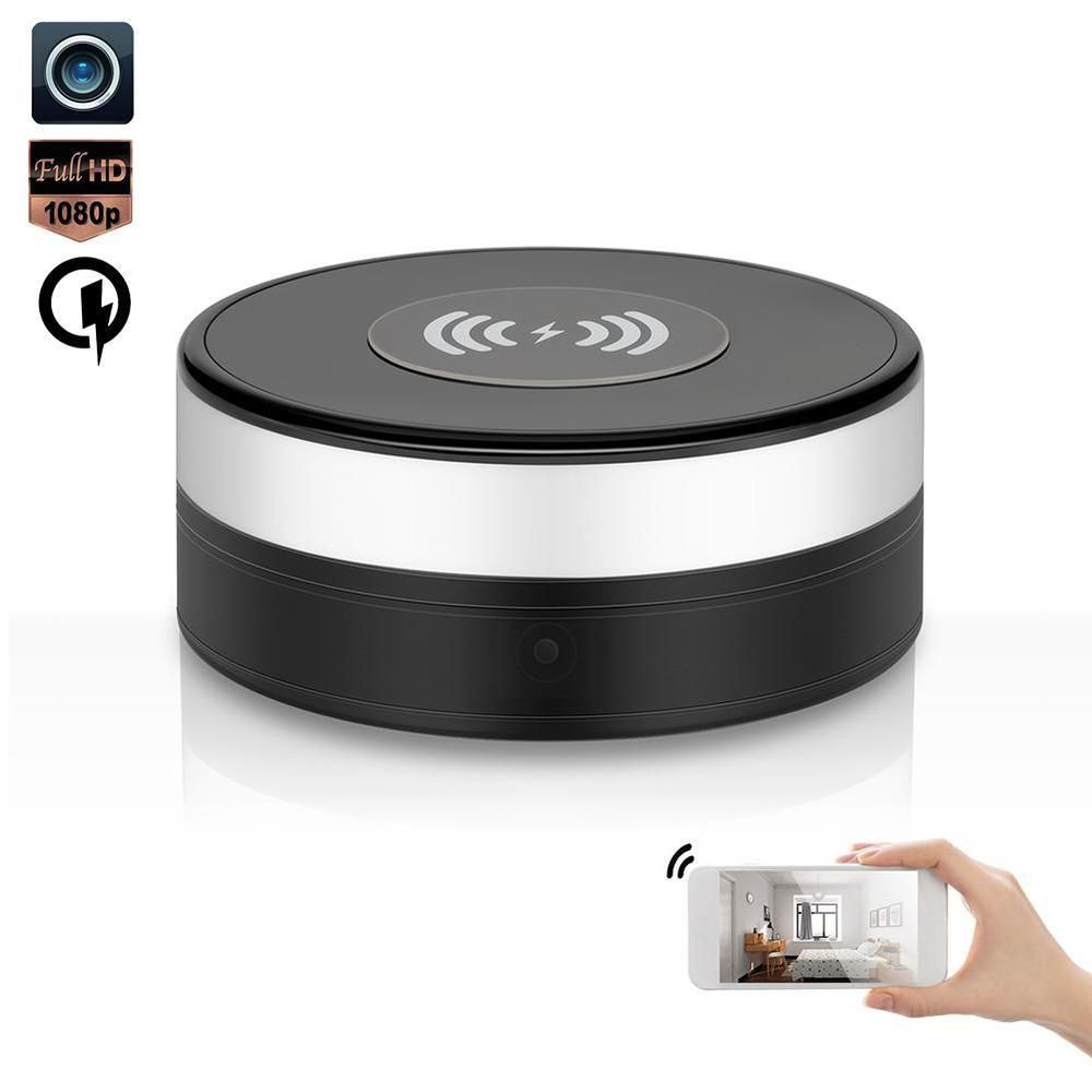 1080p Hd Wifi Wireless Charger Pad Spy Camera Security Nanny Video Recorder Cam Ebay Link