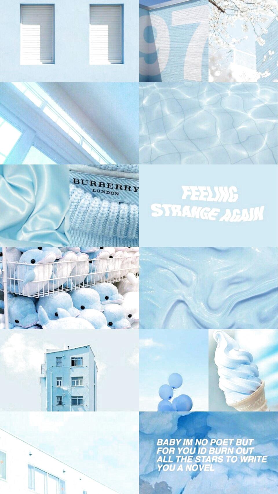 Aesthetically Pleasing V A E S T H E T I C S Bluewallpaper B Blue Phon In 2020 Blue Wallpaper Iphone Blue Aesthetic Pastel Baby Blue Wallpaper