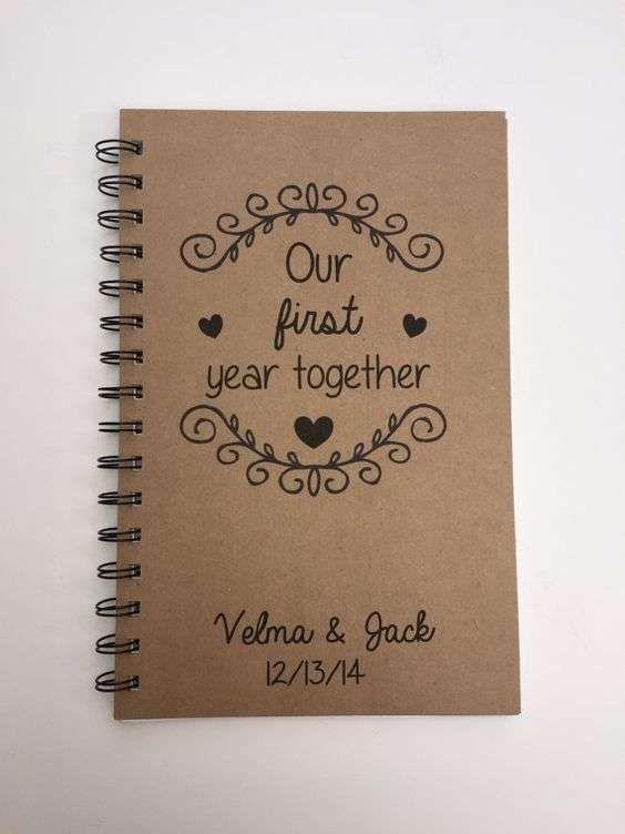 e1d32a94383e Regalos bodas de papel: fotos ideas - Cuaderno DIY bodas de papel ...