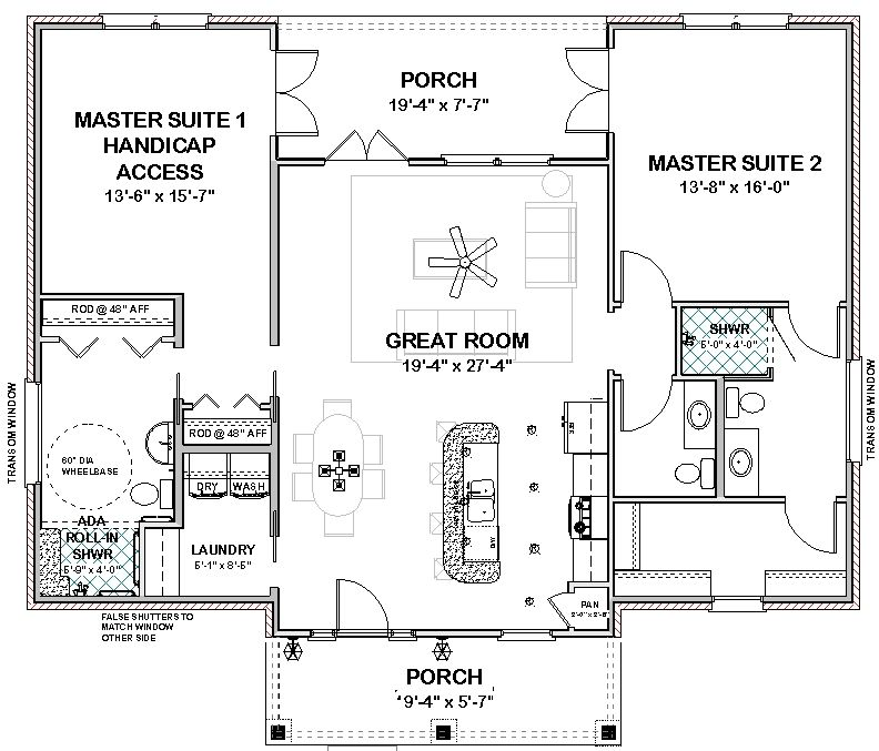 Plan Nina Stock House Plan Home Pinterest