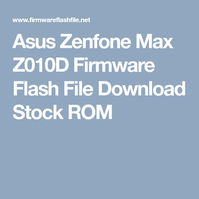 Z010d Fastboot Firmware