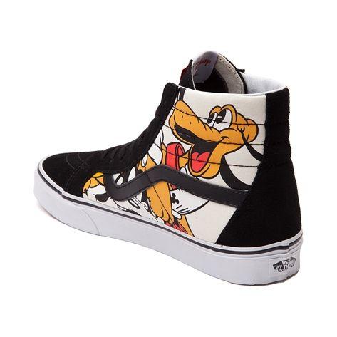 Vans Sk8 Hi Mickey Mouse Skate Shoe