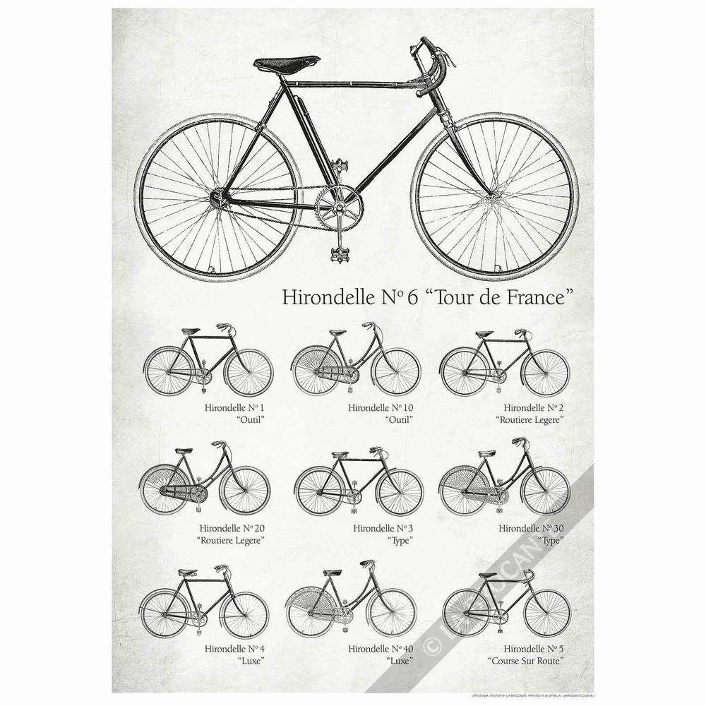 Details about vintage tour de france bikes bicycles retro