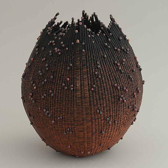 6 3 Copper Wire | Vessel No 325 By Lee Sipe Copper Wire 6 3 4 X 5 1 2 Inches 2 100