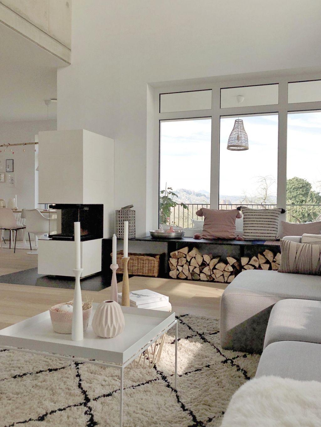 Good Morning Sunshine Wohnzimmer Livingroom Kaminbank Sitzbank Sitzfenster Kamin Nordichome In 2020 Minimalistisch Wohnen Wohnen Wohnung Wohnzimmer