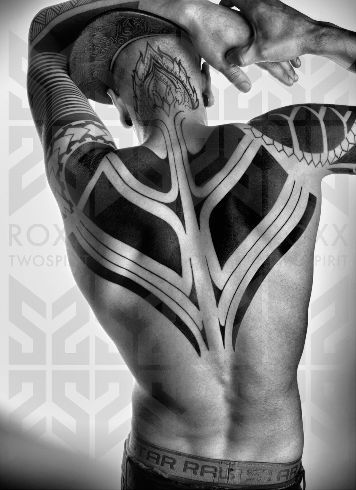 Tattoo by Roxx TwoSpirit - this is who does my SF tattoos. the best.