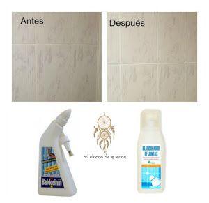 C mo blanquear las juntas de los azulejos consejos pinterest trucos caseros trucos y limpieza - Blanquear juntas azulejos ...