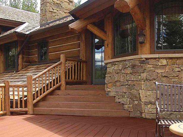 Designer Decks Made From Natural Wood, Composite and Aluminum | Log ...