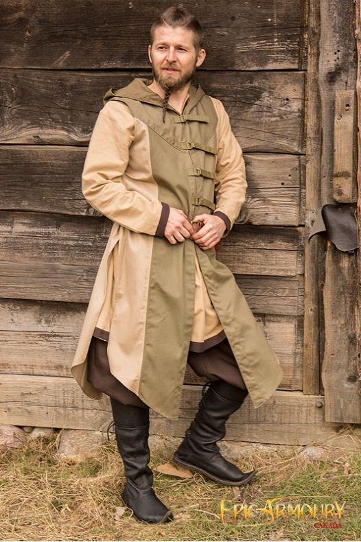 2019 Green Tunic Jacketsamp; In VestLarp Vests Medieval Altair dsxtrhCBQ