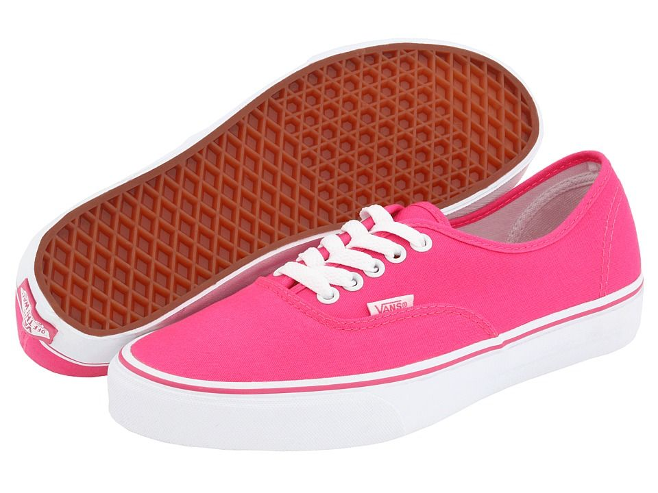 vans rosa mujer