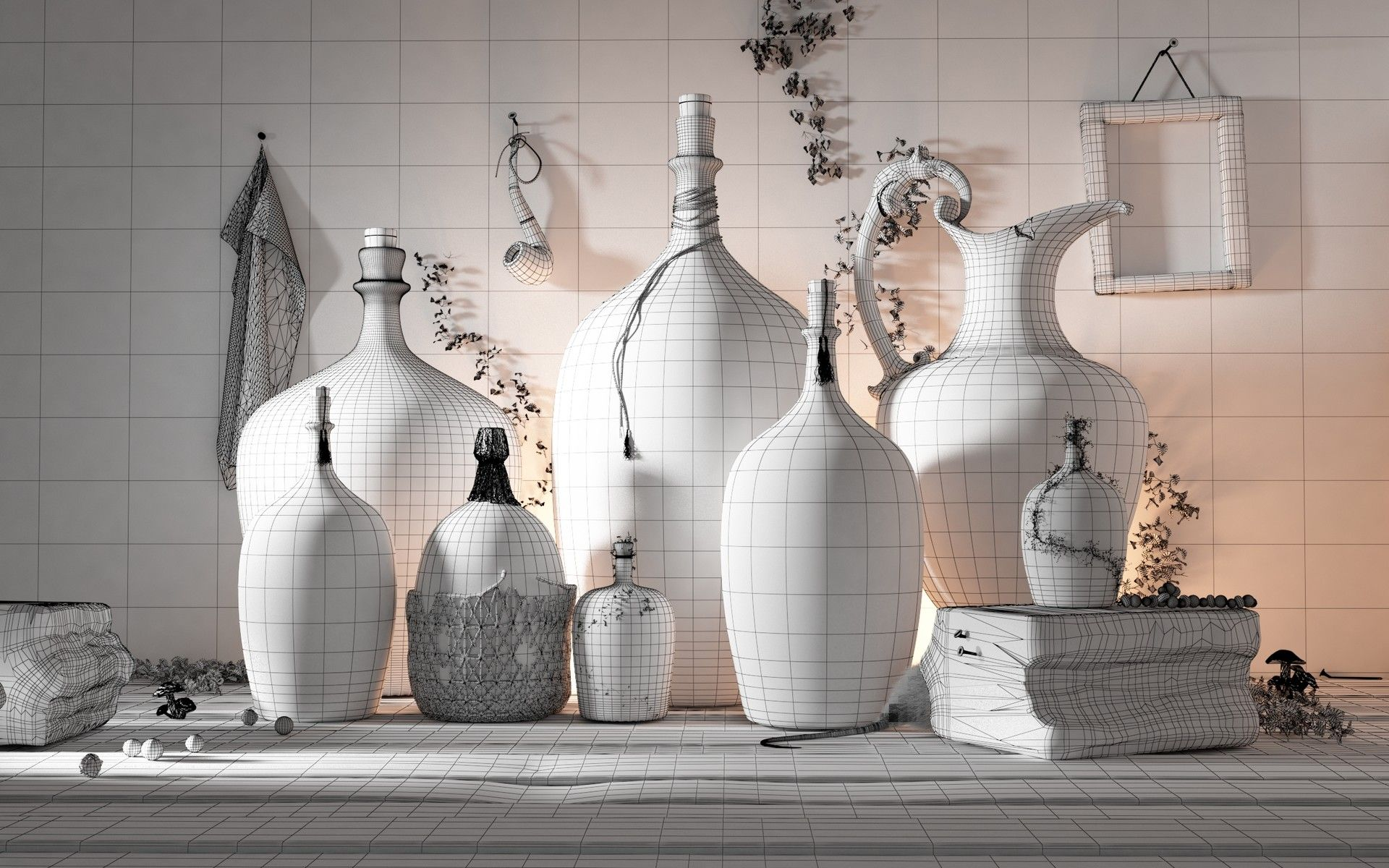 Making of Bottles of Life by Farid Ghanbari Farid Ghanbari is a