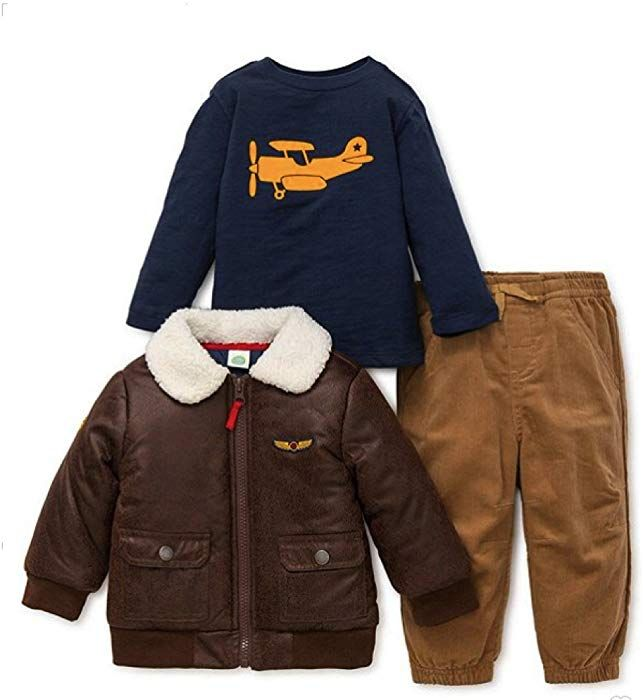 Little Me Boys Toddler Jacket Set